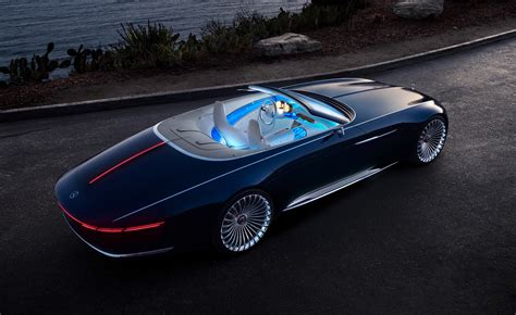 Luxurius Car :  The Vision Mercedes-maybach 6 Cabriolet