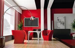 deco salon rouge salon inspirations pinterest With deco salon rouge blanc noir