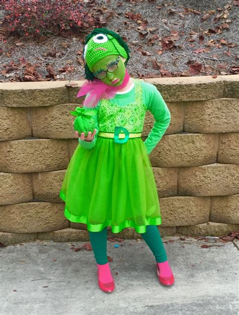 Disgust Inspired Inside Out Halloween Costume Halloween