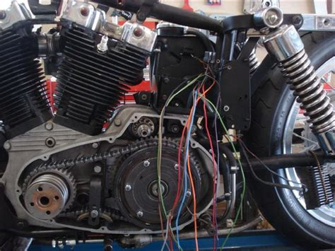 Ironhead Wiring Harnes by Ironhead Sportster Project