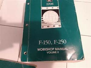 Factory Service Manual For 1998 Ford F