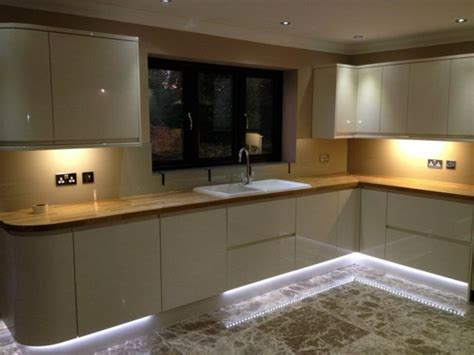 led kitchen lighting functional and environmentally