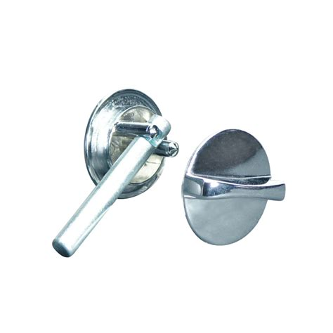 Bathroom Stall, Chrome Plated, Concealed Latch Assembly W
