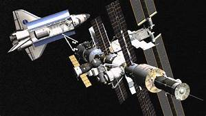 Shuttle Docking with the ISS in Orbiter - YouTube