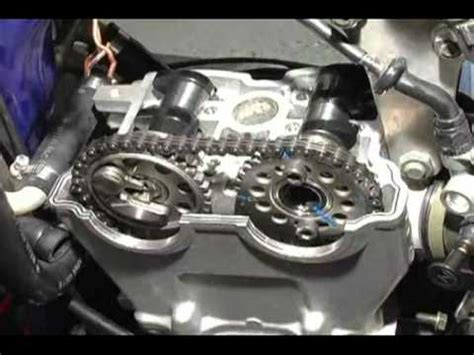 Hot Cams Installation Yamaha Yz250f Youtube