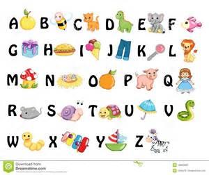 abc design zubehã r alphabet stock illustration image of icon child object 18683680
