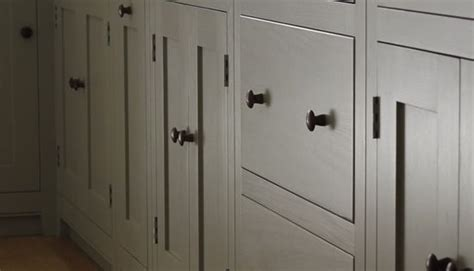 handles kitchen cabinets shaker style kitchen farrow and l room gray 1549