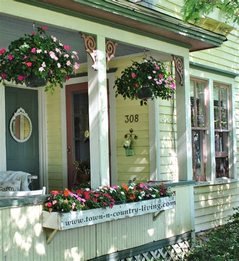 Summer Farmhouse Porch Decorating Ideas Town And Country