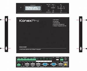 Hdbaset U2122 Presentation Switcher  U0026 Scaler