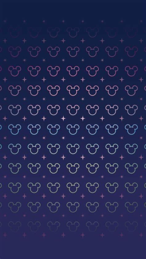 ミッキーマウスのパターン iPhone壁紙3