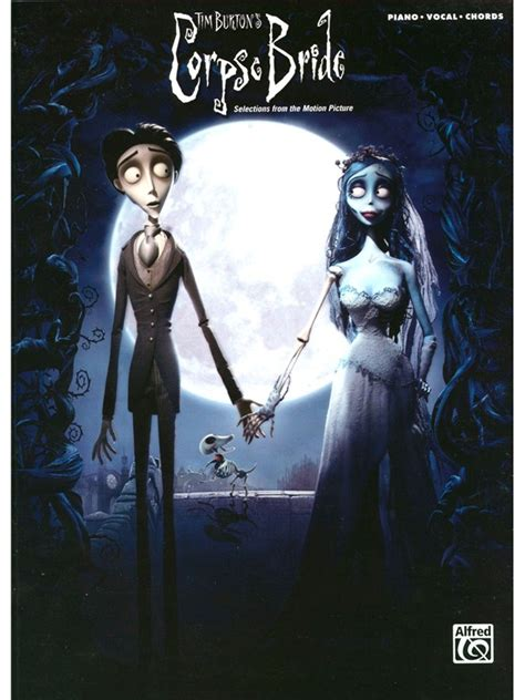 sheet music corpse bride selections from the motion