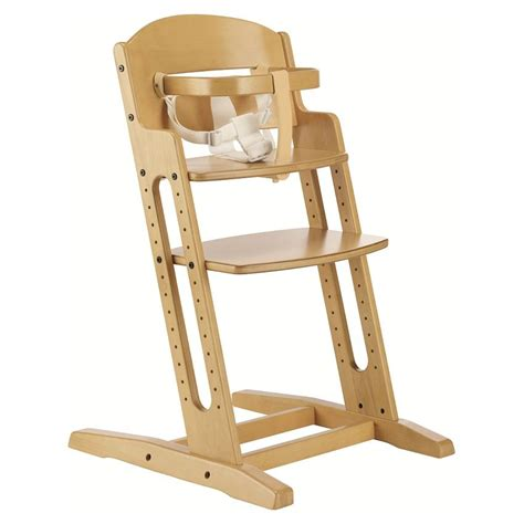 chaise haute safety babydan baby highchair nature wooden high chair