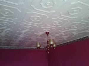 Polystyrenové kazety na strop
