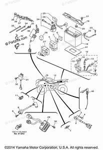 Yamaha Atv 2012 Oem Parts Diagram For Electrical