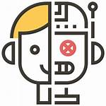 Artificial Intelligence Icon Ai Technology Robot Icons