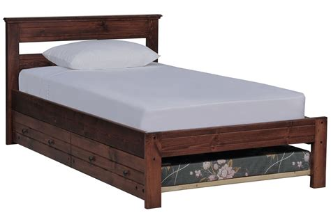 living spaces beds sedona platform bed w trundle mattress living spaces