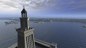 The Lighthouse Of Alexandria And The Ancient Port Of