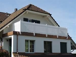 Kunststoffbretter Für Balkon : balkongel nder wei kunststoff w rmed mmung der w nde ~ Lizthompson.info Haus und Dekorationen