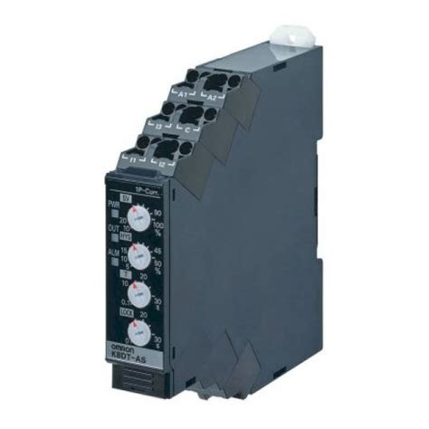 Omron Kdt Ascd Current Monitoring Relay