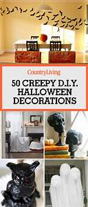 Deco Halloween Diy : 40 easy diy halloween decorations homemade do it yourself halloween decor ideas ~ Preciouscoupons.com Idées de Décoration