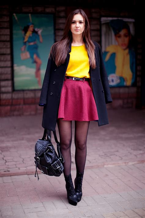 Look of the Day Mustard + Burgundy u2013 Fashion Agony | Daily outfits fashion trends and ...