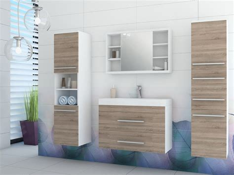 meuble de salle de bain avec meuble de cuisine marylin ensemble vasque et trois meubles salle bain 2