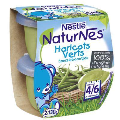 petit pot bebe haricot vert petits pots naturnes haricots verts 2x130g tous les produits repas b 233 b 233 prixing