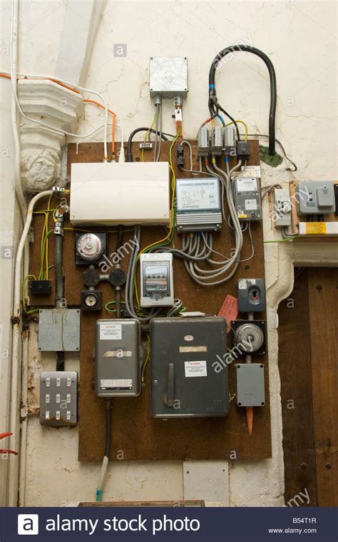 Electricity Fuse Box by Uk Electrical Fuse Box Stock Photos Uk Electrical Fuse