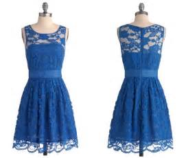 blue dresses for wedding bridesmaid dresses blue lace