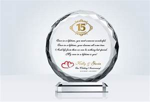 crystal anniversary gift crystal central With crystal gifts for 15th wedding anniversary