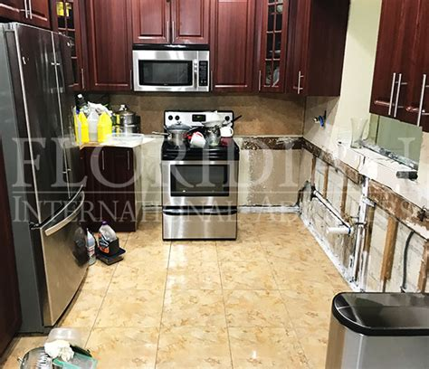 Kitchen Insurance Claim by Kitchen Leak Adjuster Insurance Claim Evaluation