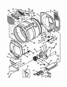Whirlpool Wed5500bw0 Dryer Parts