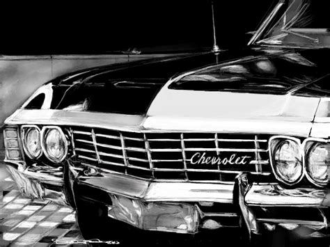 Chevy Impala Wallpaper Iphone by Supernatural Impala Wallpaper Wallpapersafari