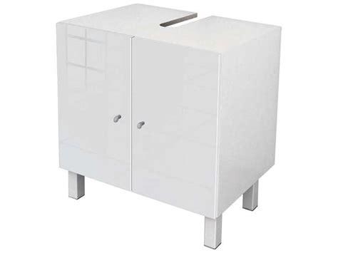 mr bricolage cuisine meuble sous lavabo soramena coloris blanc vente de meuble et rangement conforama