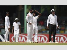 BUMBLE AT THE TEST Unacceptable for spinners to push