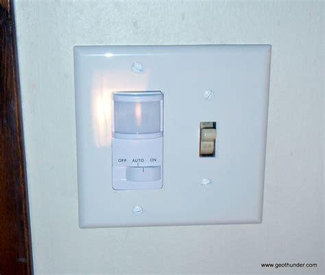 motion sensor light switch installing a better light switch