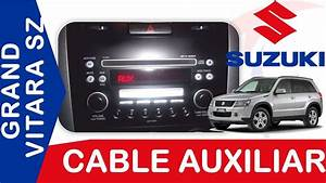 Cable Auxiliar Suzuki Grand Vitara Sz Tecnocompras