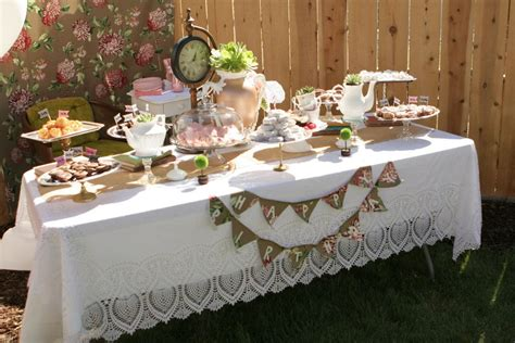 Grace Day Nursery by Onederland First Birthday Tea Party Project Nursery