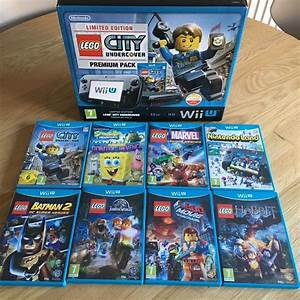 Wii U Lego City Undercover Limited Edition Console With