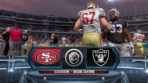 The official source of the latest broncos regular season and preseason schedule Season 5 - Week 14: San Francisco 49ers vs Oakland Raiders ...