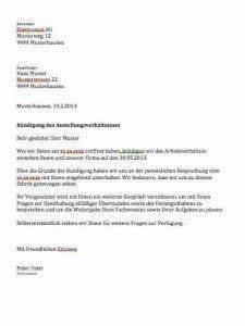 Kündigung Vorlage Kostenlos : k ndigung durch arbeitgeber vorlage kostenlos muster ~ Frokenaadalensverden.com Haus und Dekorationen