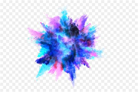 dust explosion color dust explosion color ink splash