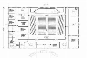 Steel church building floor plans gurus floor for Church building plans for 150 to 200 people