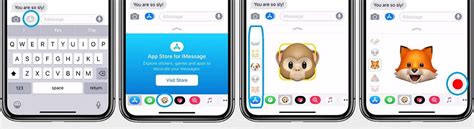 how to record and send animoji messages on iphone x iphonetricks org