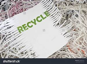 Shredded paper documents to recycle stock photo 224855554 for Shredded documents recycle