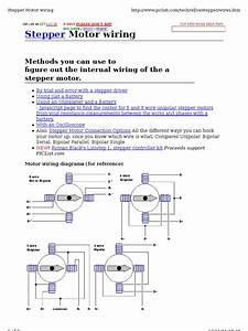 General 6 Wire Stepper Motor Wiring Diagram Astrosyn   52