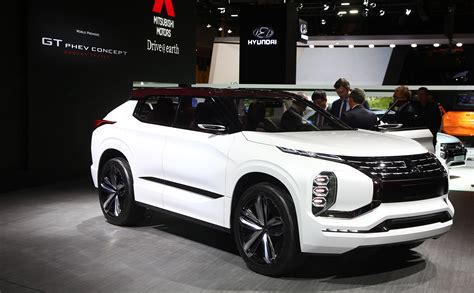 Mitsubishi GT PHEV concept previews next gen hybrid tech