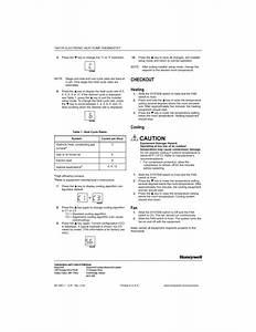Honeywell Thermostat T8411r