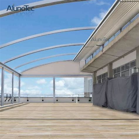 china aluminium automatic awnings auto patio roofing systems china awning retractable awning