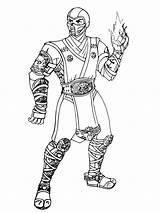 Mortal Kombat Coloring Zero Sub Printable Boys Colorings Captain Sheets Getcolorings Getdrawings America Adult Cross Recommended Doghousemusic sketch template